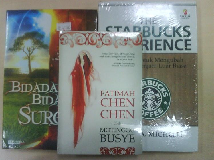 tiga buku baru